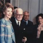 Nancy Regan e Sandro Pertini